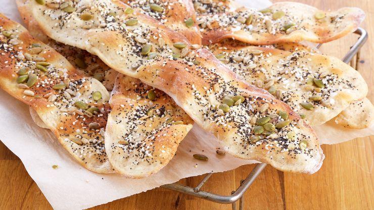 Crispy seed lavash par anna olson pain croissant bread food crispy seed lavash par anna olson asian food channelflatbread recipesanna forumfinder Gallery
