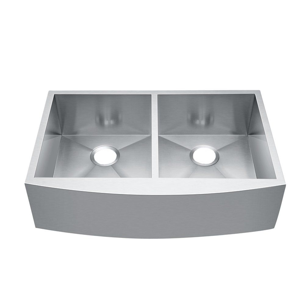Cracco Spa 33 X 20 X 9 Double Bowl Drop In Sink Farmhouse Stainless Steel Kitchen Sinks Read More At The Image Link Th Bar Sink Sink Drop In Sink