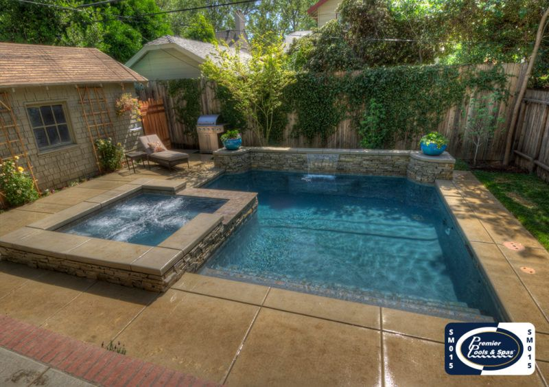 Pin By Teresa Hill On Pool In 2020 Small Pool Design Small Pools Pools For Small Yards