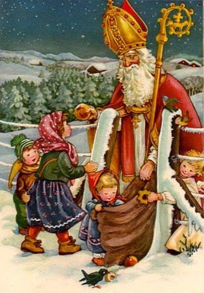 Image result for saint nicholas klaus