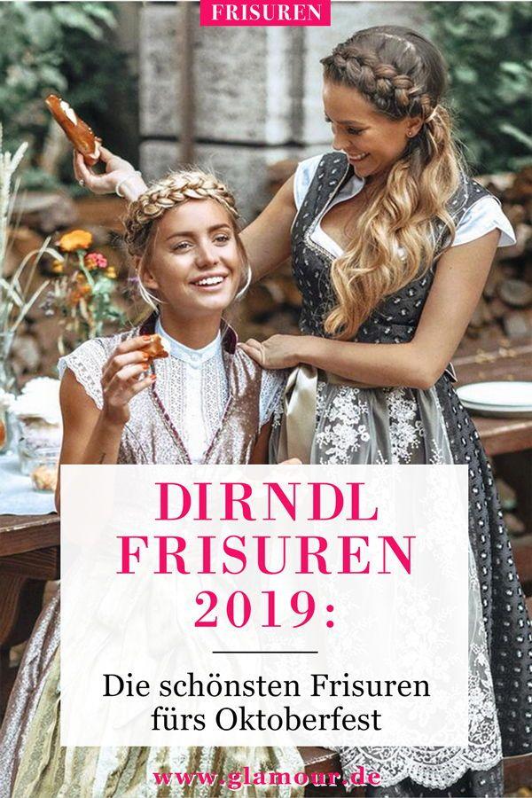 Dirndl-Frisuren 2019: Looks für das Oktoberfest #homecominghairstyles