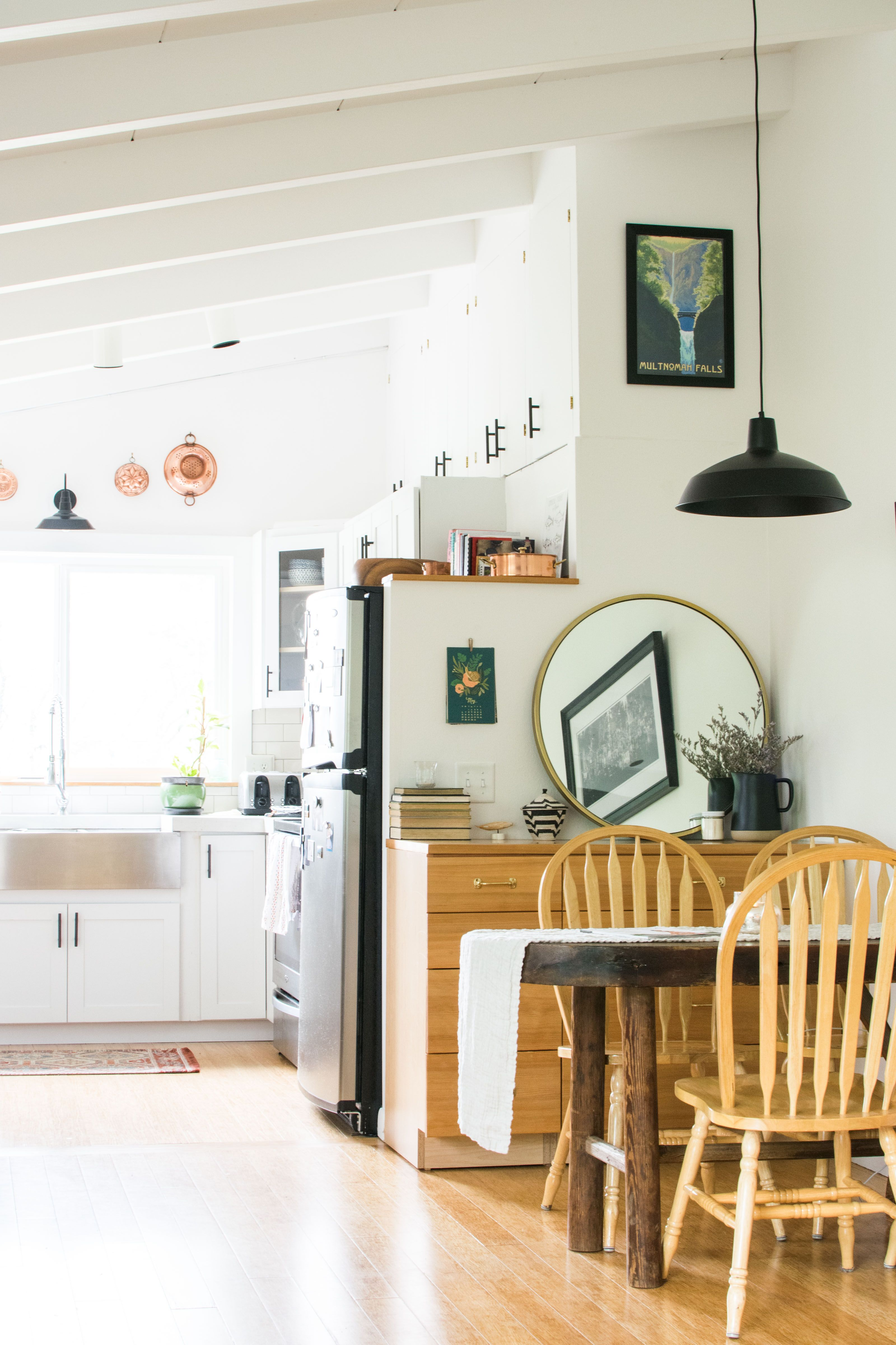An Outdated Duplex In A Small Alaska Town Turned Warm Cozy Home