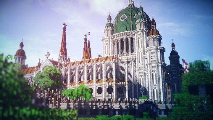SwissSMP ch Akromas Gnade Survival Tempel Minecraft Project