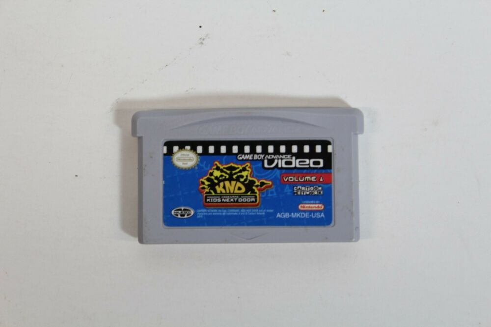 Game Boy Advance Video: Codename - Kids Next Door, Vol. 1 - LOOSE W BLANK CASE