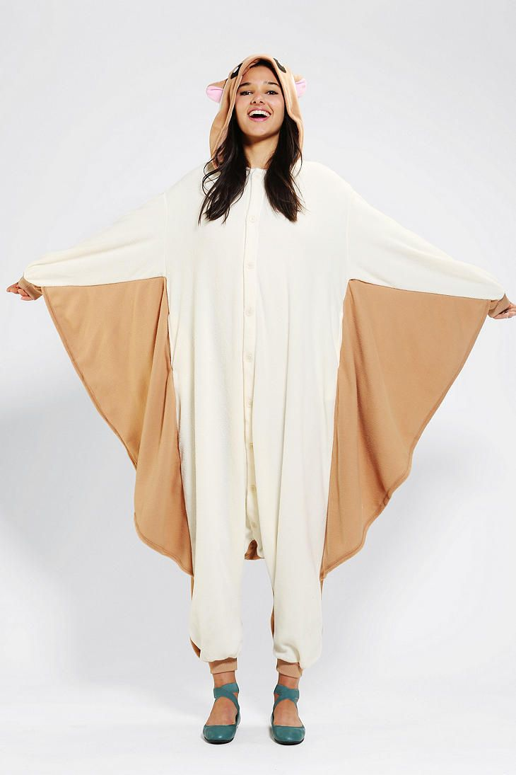 Urban Outfitters - Kigurumi Flying Squirrel Costume | Squirrel ...