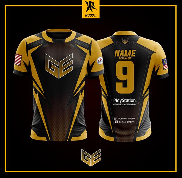 gaming jersey