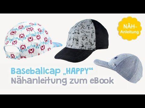 Nähanleitung für Schnittmuster Baseballcap / Schirmmütze \