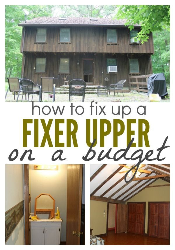 How we 39 re fixing up a fixer upper on a budget thrifty - Buying a fixer upper ...