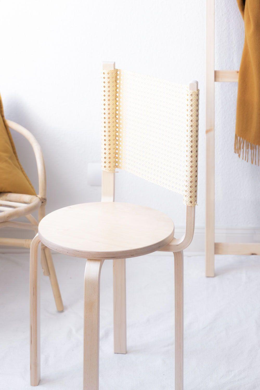 Aus GeflechtSo Hockern Stuhl Diy Zwei Ikea Mit Wird Ein 08nOPkw