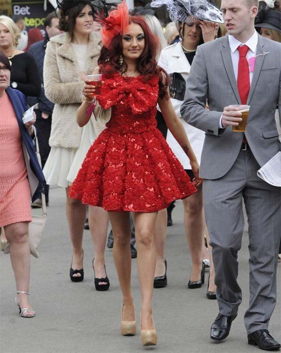 over the top fashion at aintree ladies day project