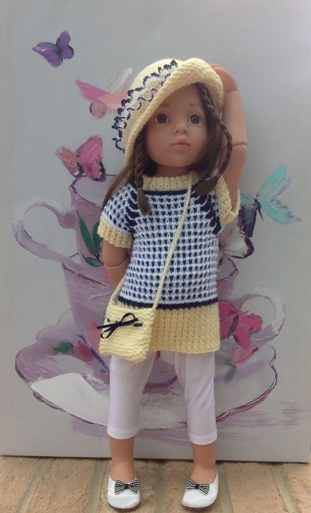 American girl doll gotz hannah designafriend h/k in lemon white and ...