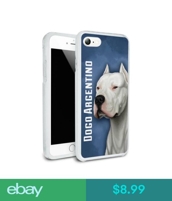 8.99 Dogo Argentino Dog Pet Hybrid Rubber Bumper Case