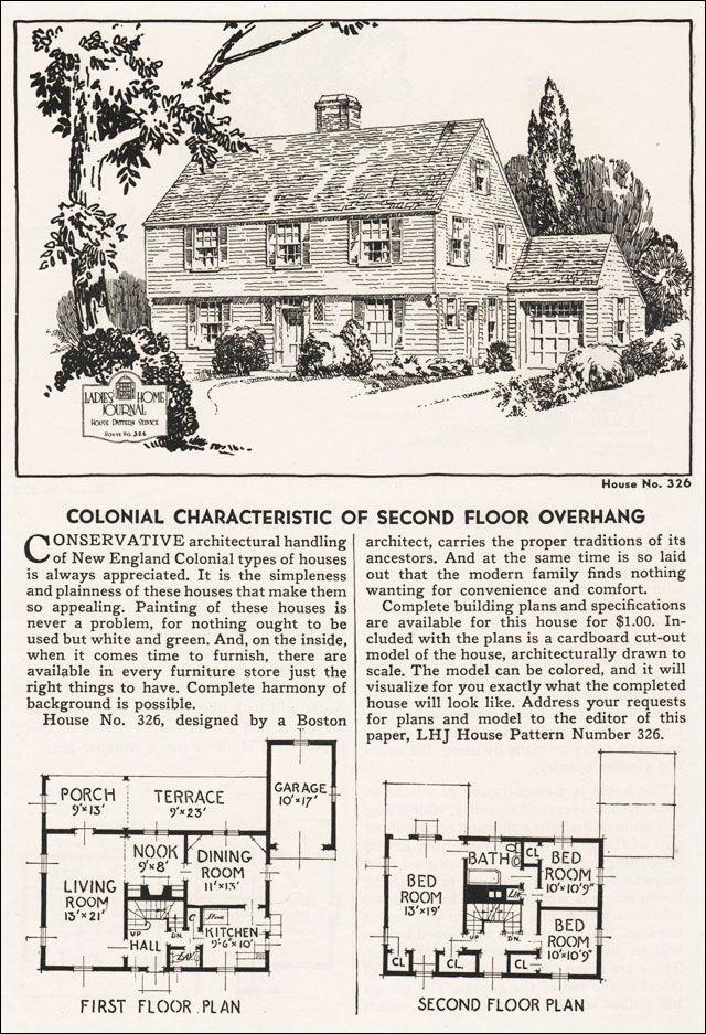 Garrison Colonial Vintage House Plans House Plans Garrison House