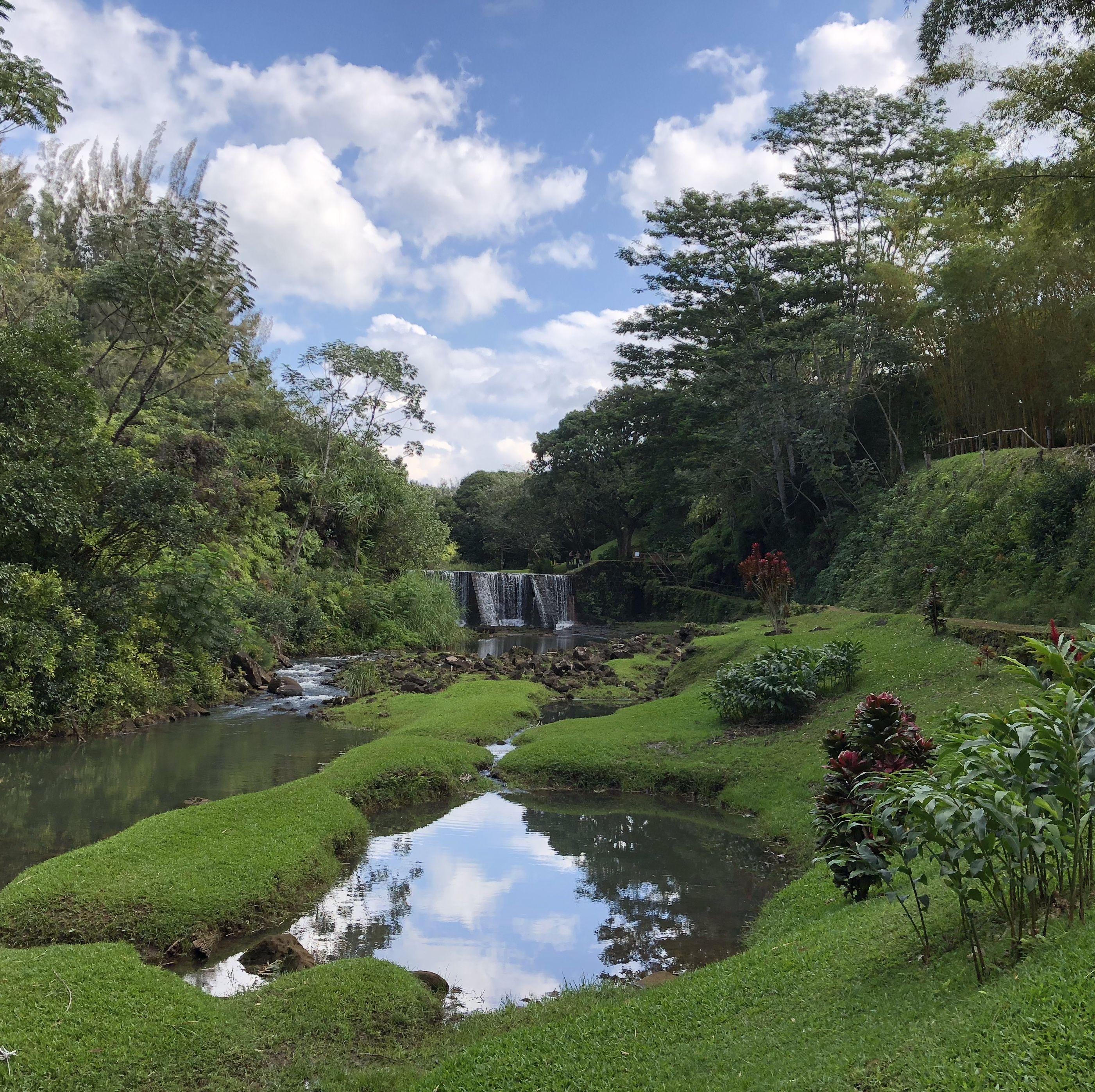 Wai Koa Farm Falls, Kauai Hawaii