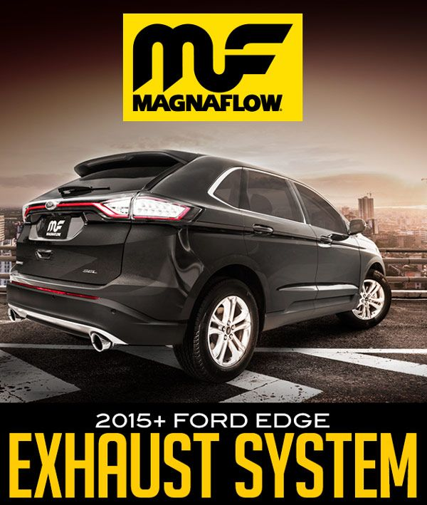 Magnaflow Exhaust  For   Ford Edge   Ford Blog New_products __ford_edge_mf_series_exhaust