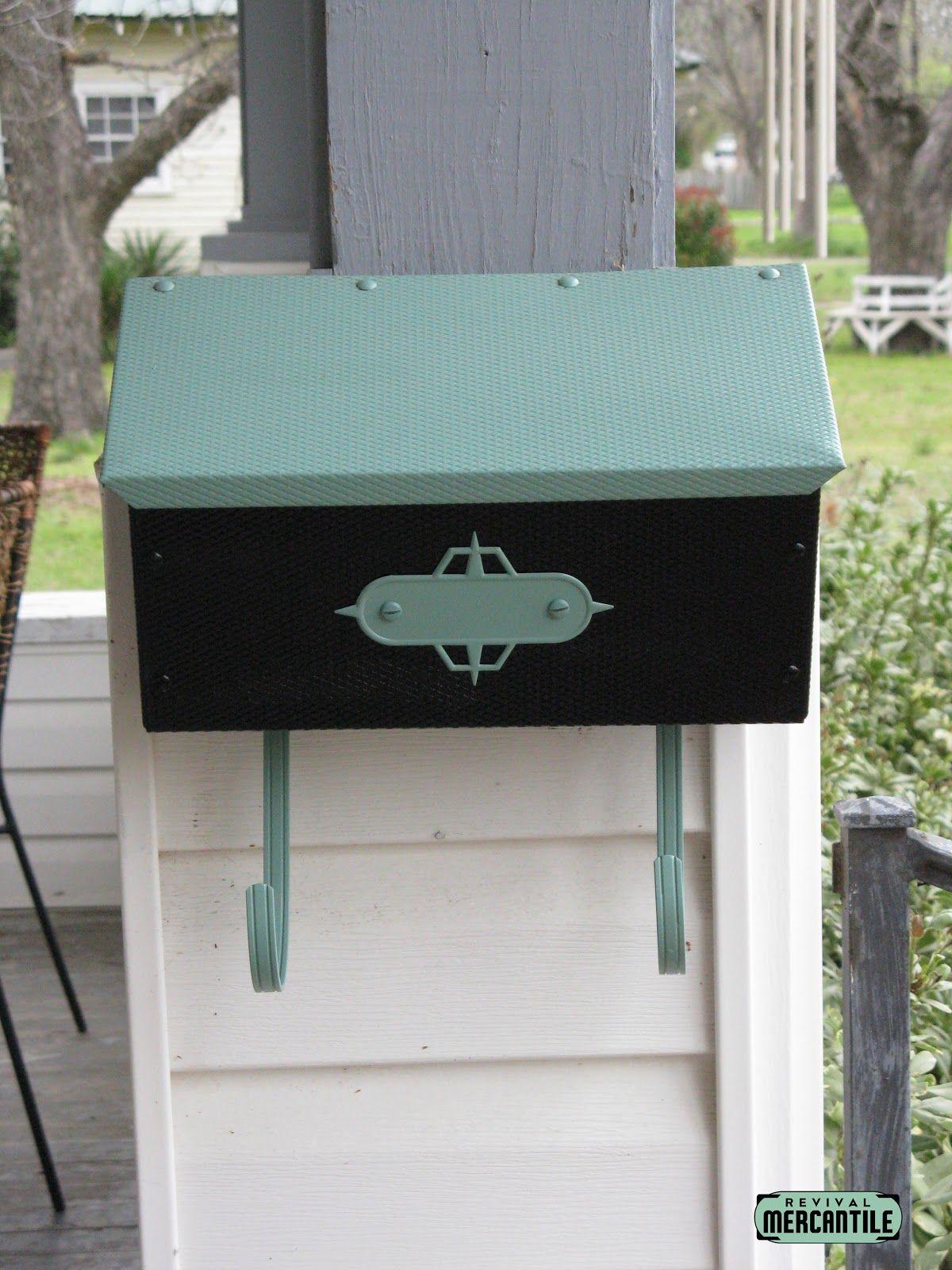 Mid century mailbox paint old mailbox hmm