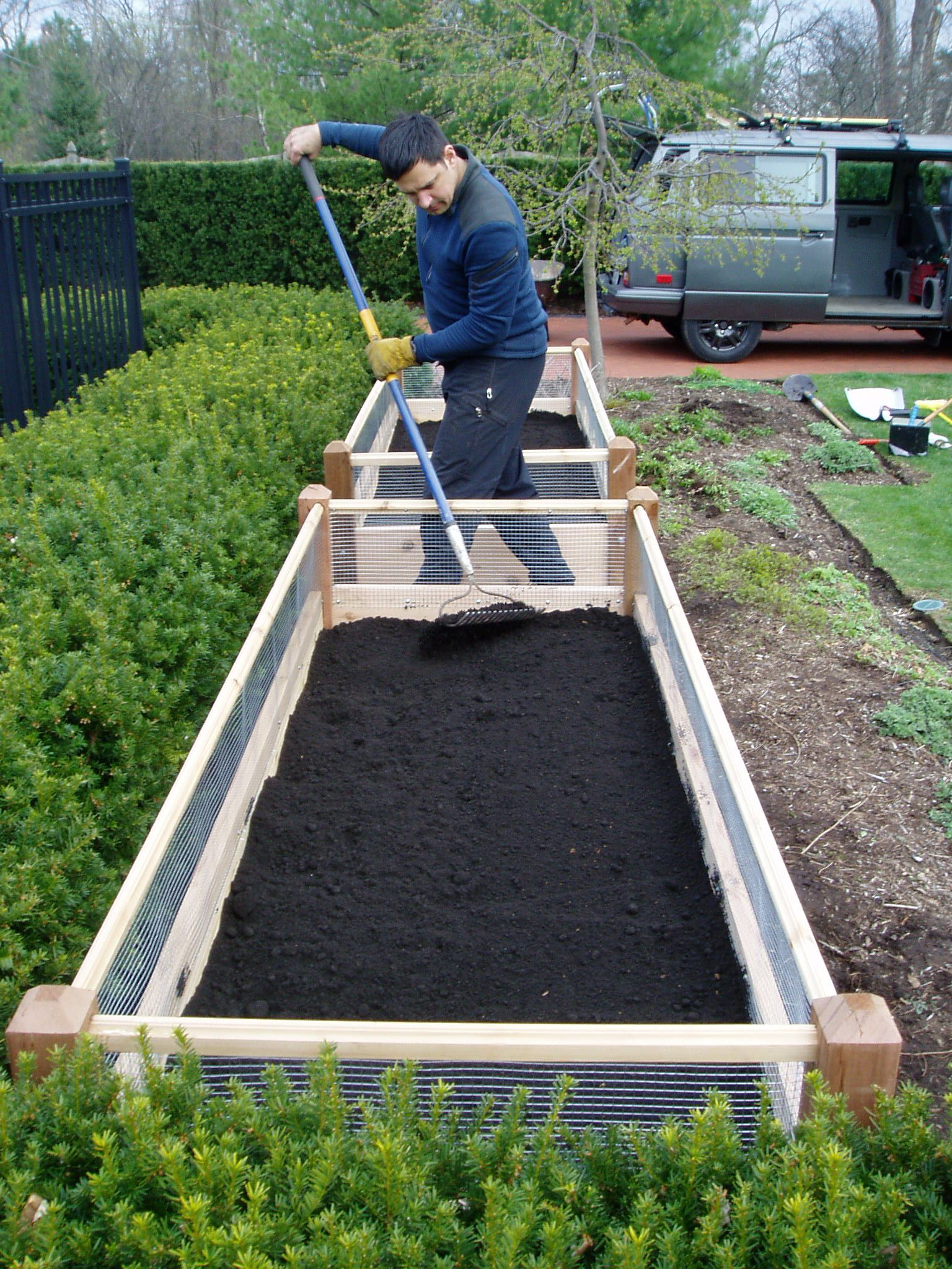 Healthy Roots raised garden beds makes gardening and