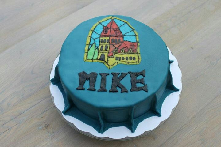 Leffe cake