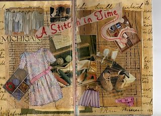 journal page by altered schoolmarm