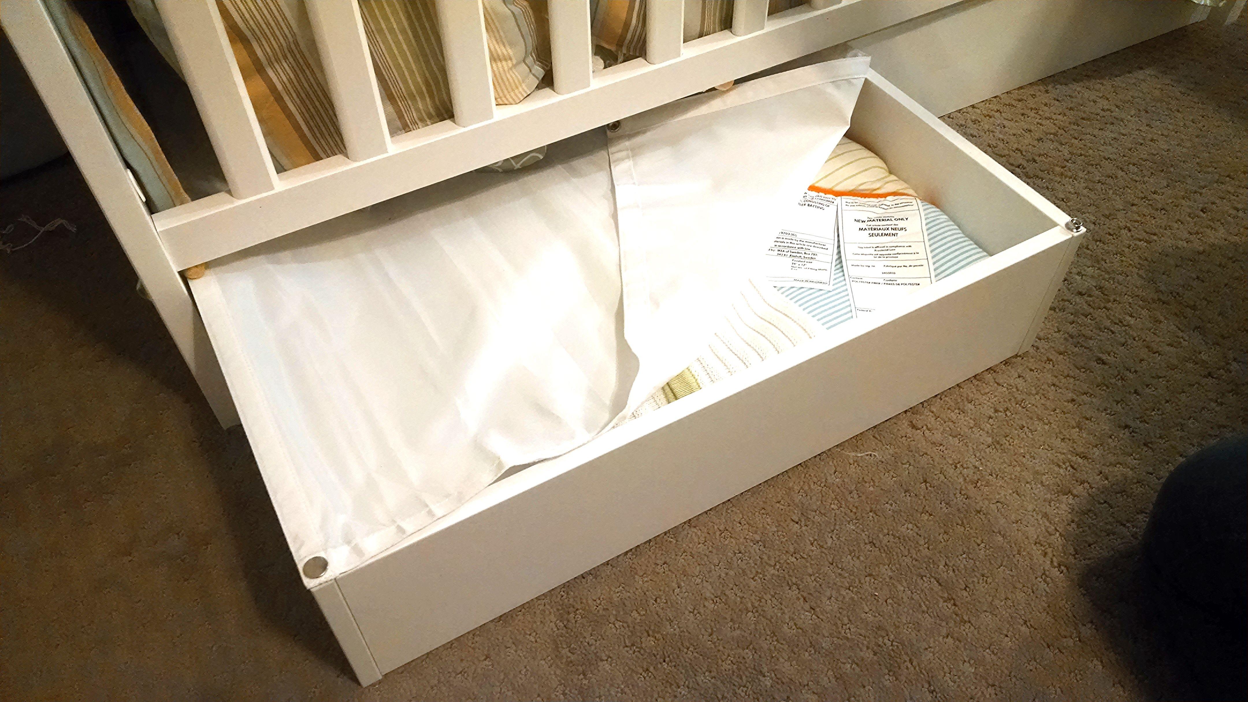 Vard 214 Underbed Storage Box Black Ikea Home Tour