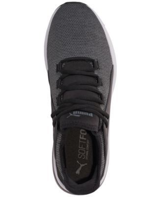 60e616c4f505ce Puma Men s Electron Street Knit Casual Sneakers from Finish Line - Black 9.5