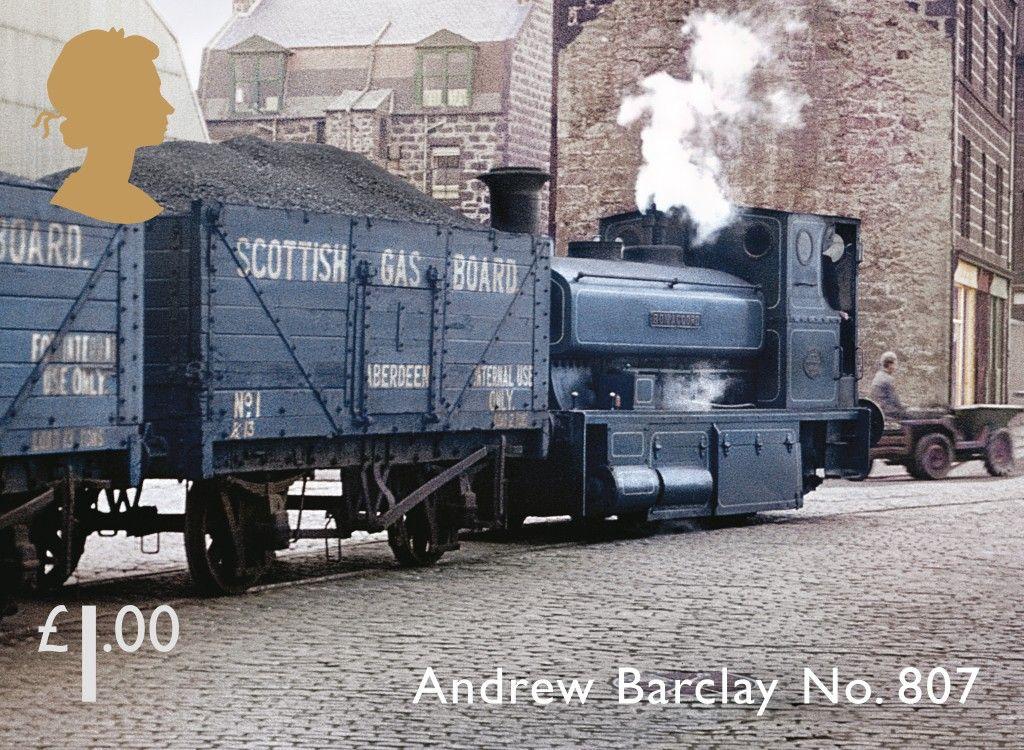 Classic of scotland andrew barclay no 807