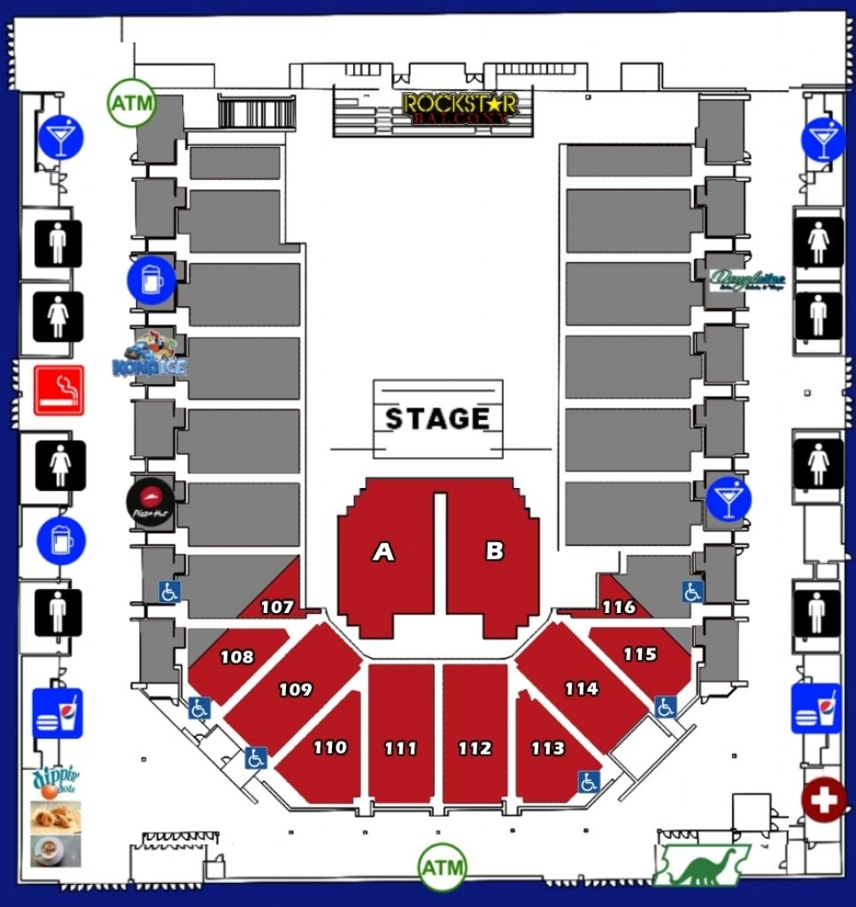 Seating Charts Casper Events Center Regarding Nfr Seating Chart