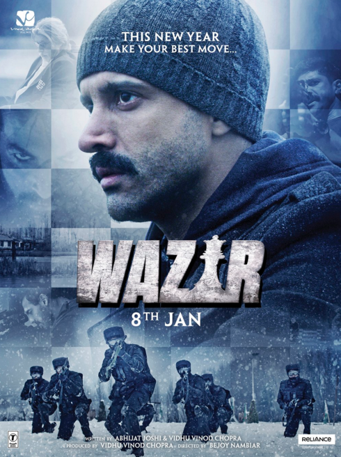 Check Out The New Posters For Wazir Full Movies Online Full Movies Full Movies Online Free