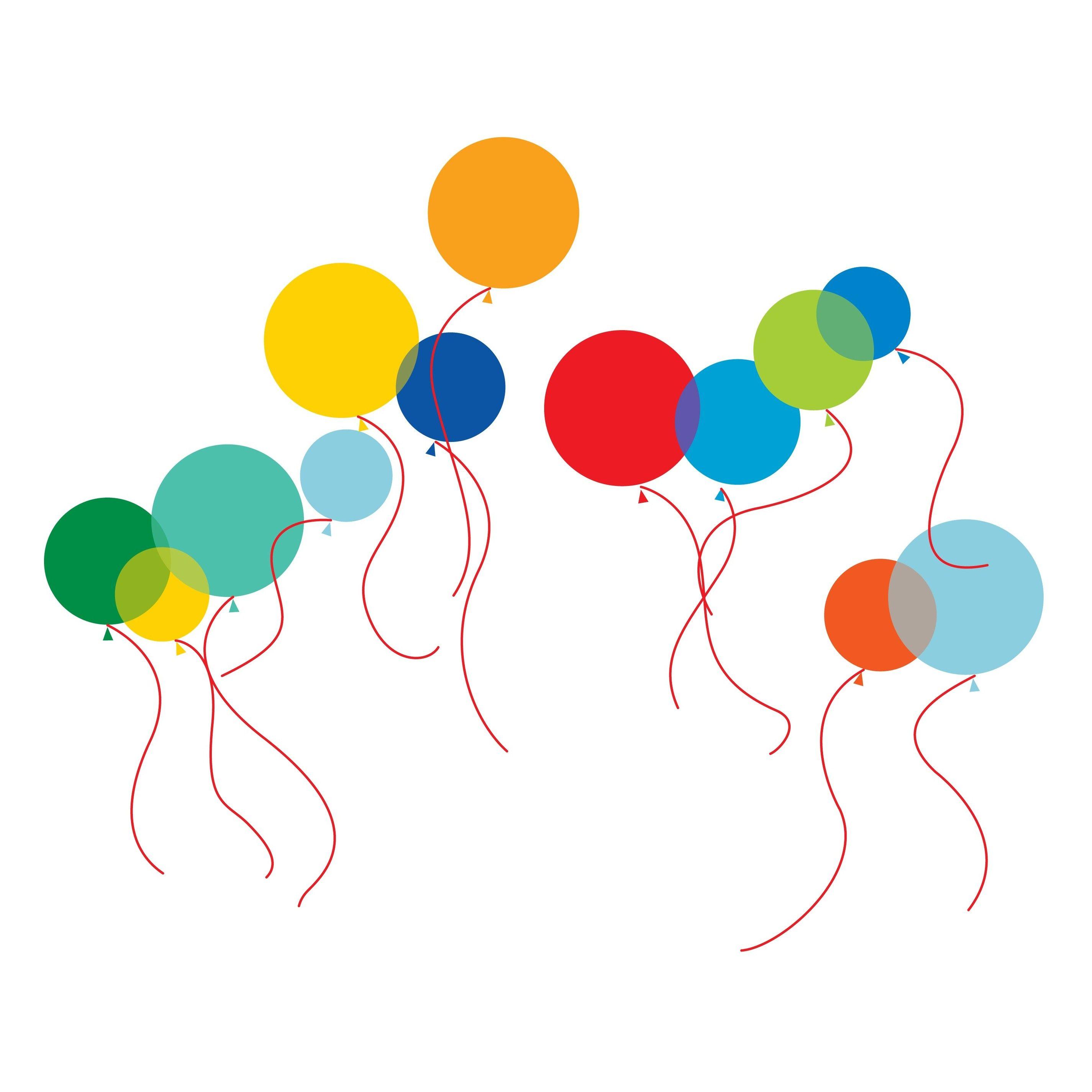 Images Ballons De Baudruche Dessin Coloriage Clipart Decal