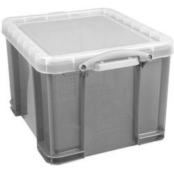 Photo of Really Useful Box Aufbewahrungsbox 35,0 l grau 48,0 x 39,0 x 31,0 cm Really Useful
