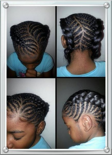 6 year old Devyn\'s back to school hair (all hers) - Black Hair ...