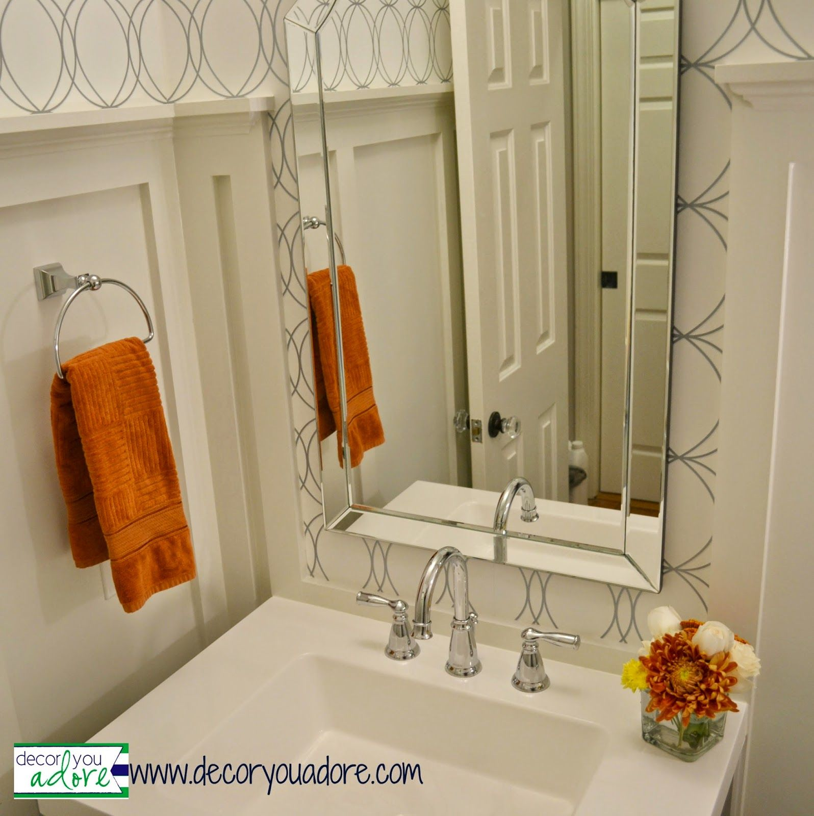 decor you adore dramatic before amp after powder bath
