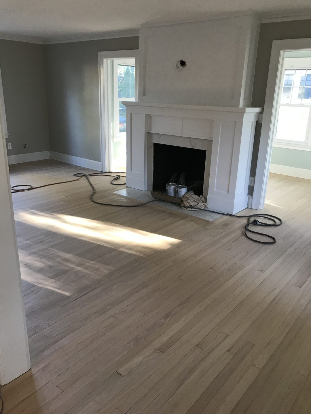 Fireplace makeover before and after photos and cost white paints