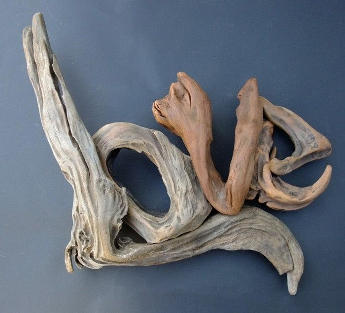 Tinkering with natural materials – 30 DIY ideas for decorating with driftwood