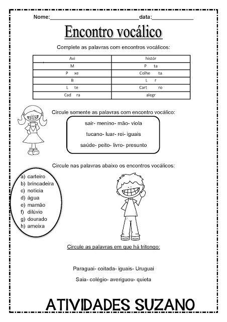 How To Learn Portuguese Quickly Atividades Encontro Vocalico
