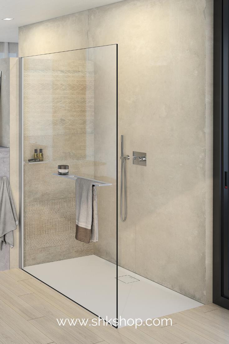 Select Walk In Dusche Mit Praktischen Duschaccessoires In 2020 Bad Einrichten Duschabtrennung Dusche