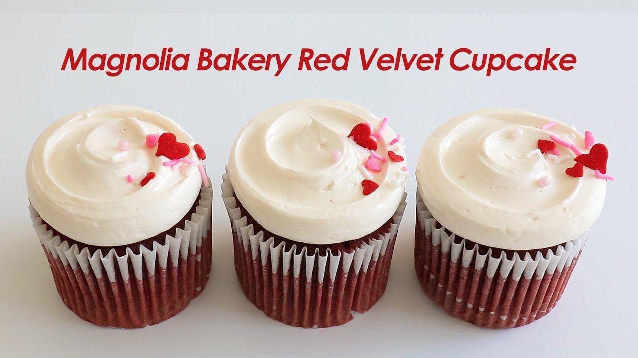 Ricetta Muffin Red Velvet.La Famosa Ricetta Dei Cupcake Red Velvet Di Magnolia Bakery Red Velvet Cupcakes Velvet Cupcakes Red Velvet Cupcakes Recipe