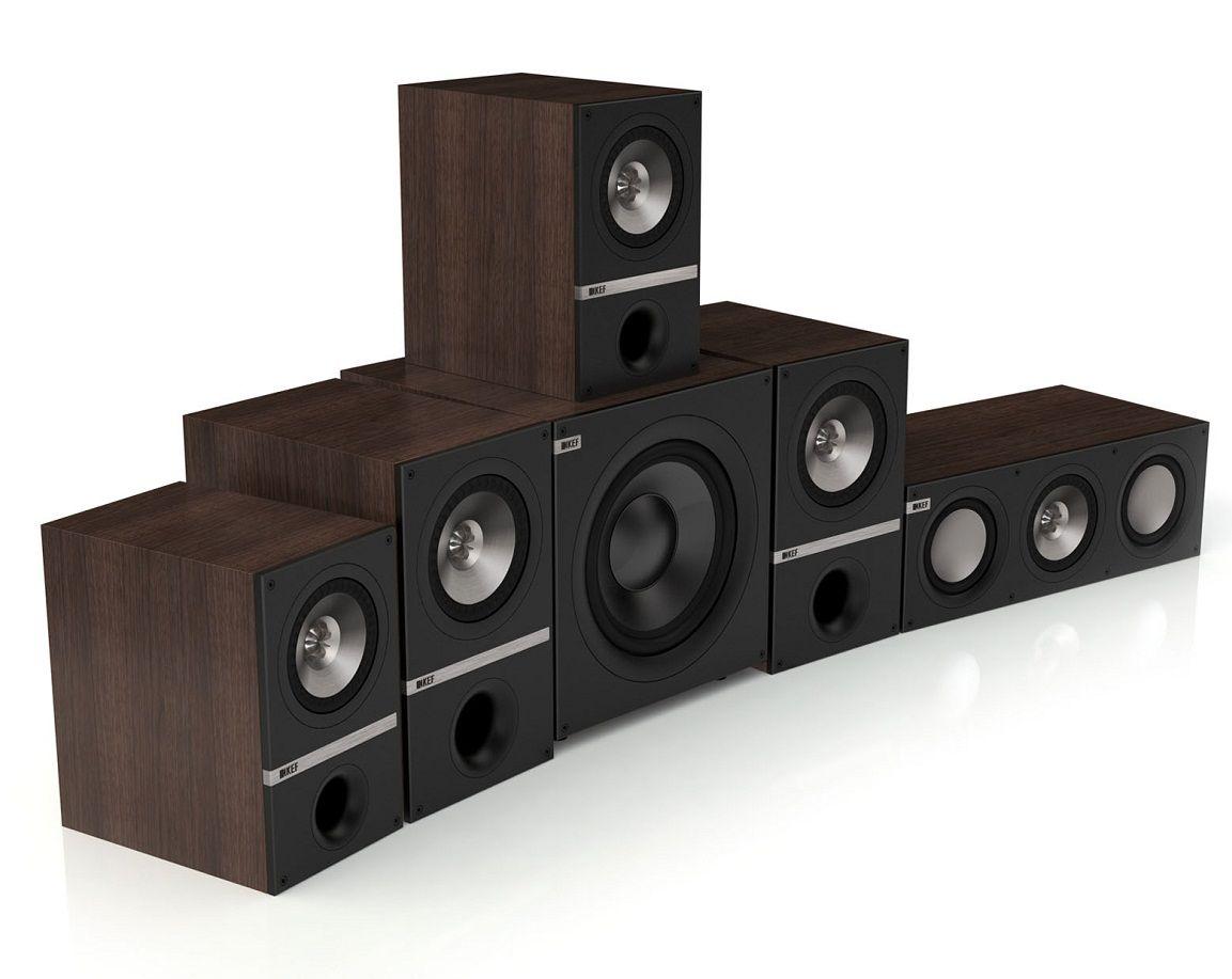 Kef Q300 5 1 Speaker Package