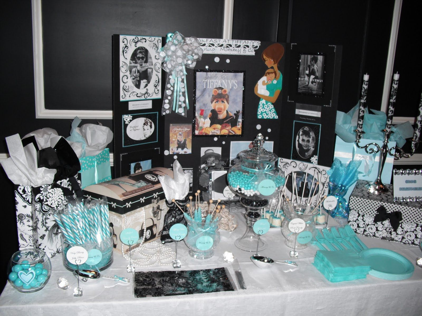 Tiffany Themed Baby Shower Decorations