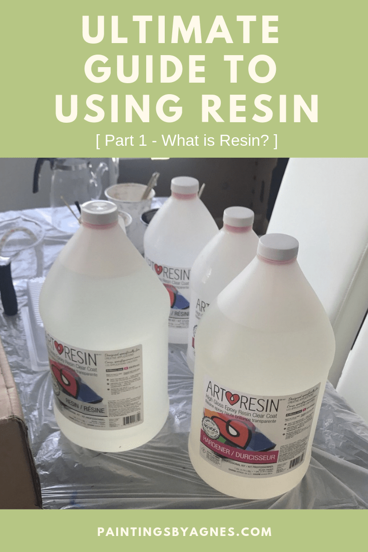 Photo of Ultimate Guide to Using Epoxy Resin – Part 1 – Paintings by Agnes