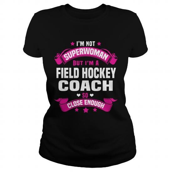 Awesome Hockey Lovers Tee Shirts Gift for you or your family member and your friend:  Field Hockey Coach Tee Shirts T-Shirts