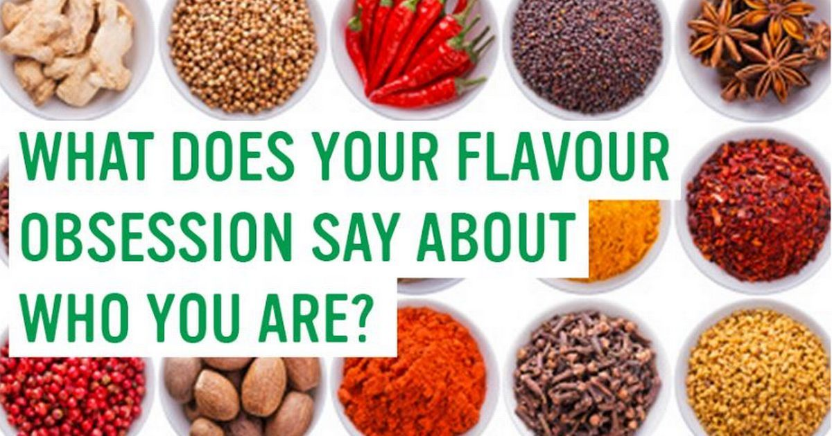 Our foodie quiz reveals what your tastebuds REALLY reveal