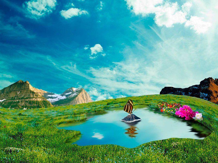 landscape fantasy by ~omarodesign