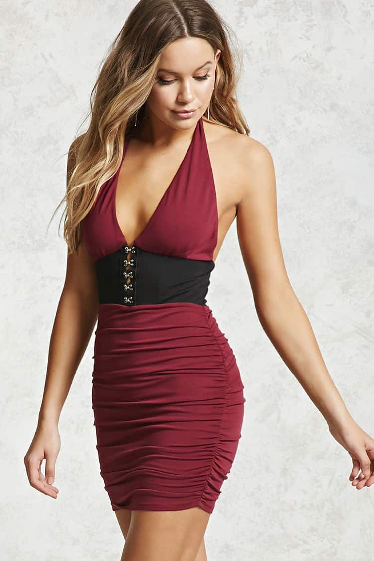 97f440706bc6 Contemporary Ruched Dress
