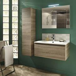 MEUBLE GLAM CM CHÊNE Magasin De Bricolage Brico Dépôt De - Meuble salle de bain bois brico depot