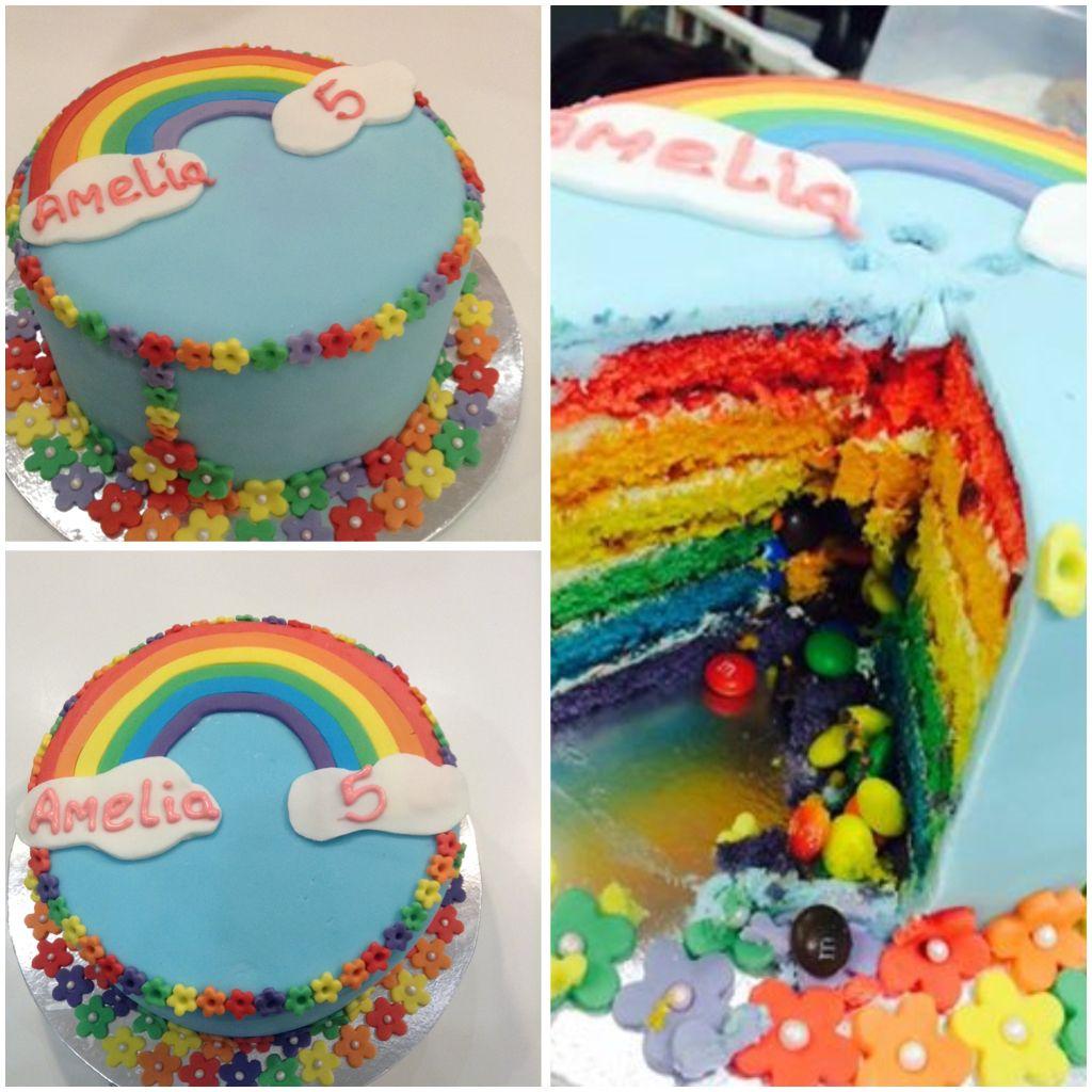 Definitely A Rainbow Cake