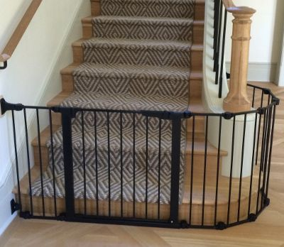 Custom Baby Safety Stair Gate Installation Austin Texas Baby
