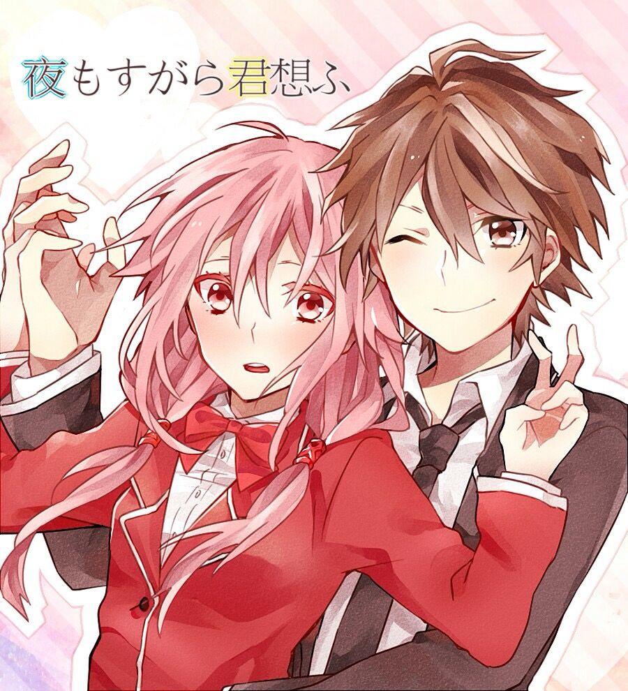 Inori shu redjuice pinterest anime