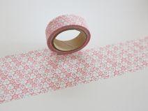 """Washi Masking Tape rosa hellblau """"DNA"""""""