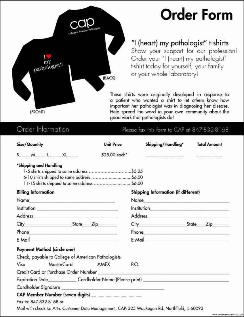 For Order Forms Form Templates Purchase Template Product Gift It